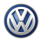 The VW Volkswagen logo in the Holocircle 3D hologram projector